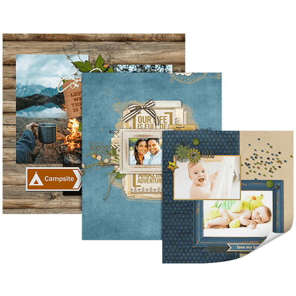Create custom Page Prints with Artisan - Digital Scrapbooking Software