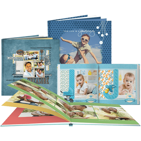 Print beautiful photo books with Artisan - Digital Scrapbooking Software