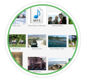 Organize and collect your media files with FOREVER® Historian - Photo Management Software